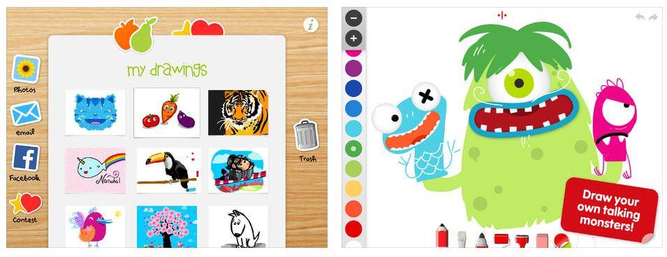 kindgerechtes malprogramm f r iphone und ipad heute kostenlos app. Black Bedroom Furniture Sets. Home Design Ideas