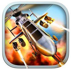 Hubschrauberkampfspiel Battle Copters setzt auf Online-Kämpfe – und bringt richtig Spaß