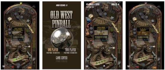 Old West Pinball ist eine ordentliche Flipper-App mit einem Tisch, der an den alten amerikanischen Westen erinnert.