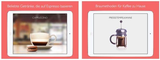 Alle Kaffee-Spezialitäten mit genauer Vorstellung und Zubereitungsvideos zum Nachmachen.