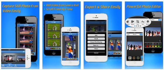 Mit Video to Photo Grabber wird Dein Video in Einzelbilder zerlegt, die Du dann als Fotos abspeichern kannst. Vorher kannst Du sie sogar noch bearbeiten.