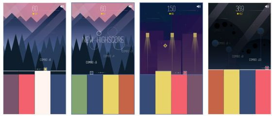 Screenshots der App Higher Higher!