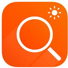 Magnifier Flash Icon