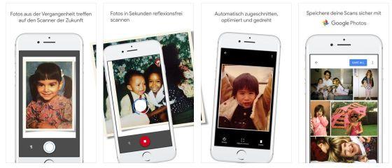 Die besten Bilder aus alten Fotoalben oder dem Schuhkarton kann man mit der App Fotoscanner von Google einfach digitalisieren.