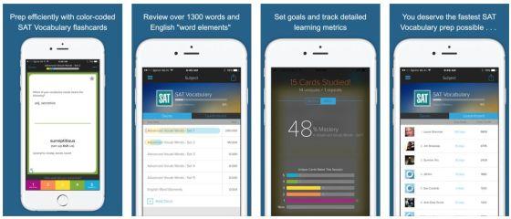 Mit dieser App lernst Du garantiert Wörter aus der englischen Sprache. Der Wortschatz ist mit 1300 Vokabeln schon recht umfangreich.