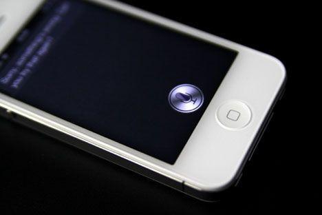 Siri para iPhone 4S Blanco