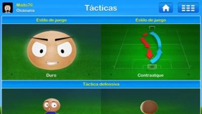 Tácticas del  juego de Entrenador de fútbol