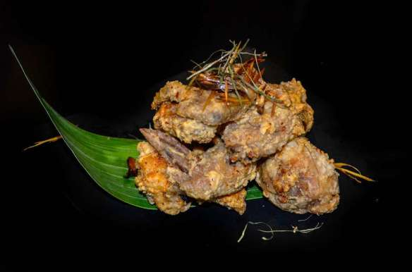 Tom Yum Chicken Wings Php290