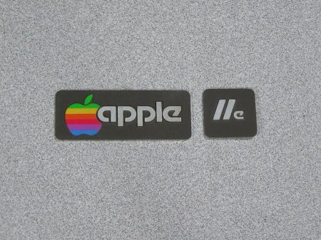 Apple IIe Emblem or Badge