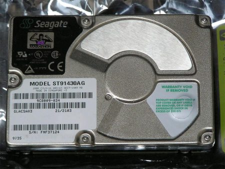 Seagate Hard Drive 2.5″ 1.45GB ATA