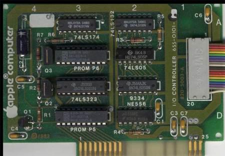 Apple I/O Controller or Apple 5.25 Drive Controller Card