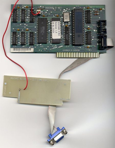 Digicard D-NET Networking Card