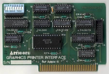 Apricorn Graphics Printer Interface