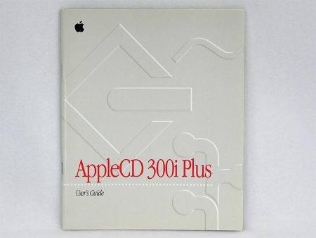 AppleCD 300i Plus User's Guide