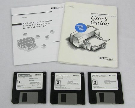 HP DeskWriter 600 Series Manuals and Sofware