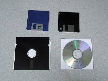 System or Software on Disks