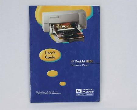 HP DeskJet 1120C User's Guide