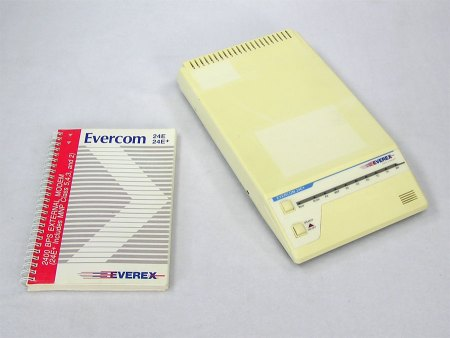 Everex 2400 Baud External Modem – Choose One (Serial)