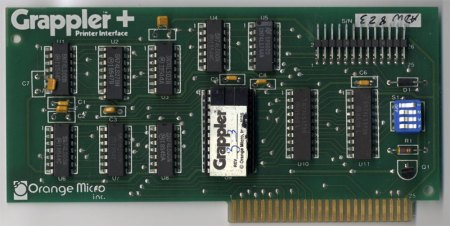 Grappler + Plus Printer Interface Card