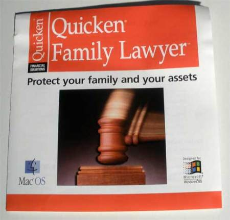 Quicken Family Lawyer