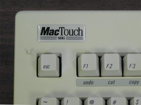 MacTouch Extended Keyboard – ADB