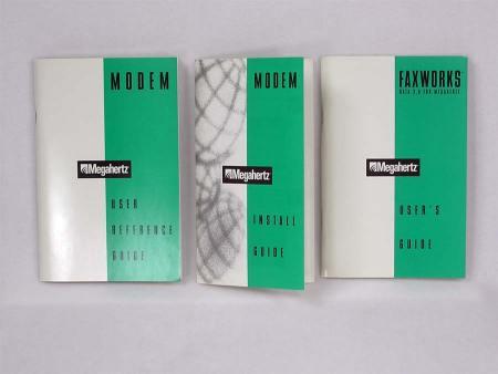 Megahertz Cardbus LAN Modem Card Manuals