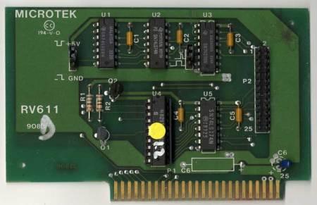 Microtek RV611 Parallel Printer Card