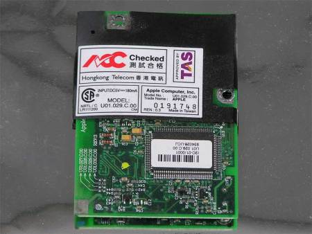 Modem, Internal – Power Mac G4 (AGP), iBook Clamshell, PowerBook G3
