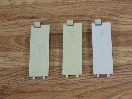 Macintosh 128K, 512K, Plus Battery Door