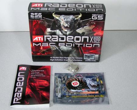 ATI Radeon X800XT Video Card Power Mac G5