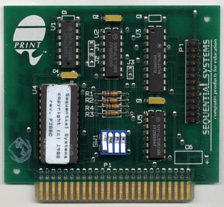 Q-Print Parallel Printer Interface Card