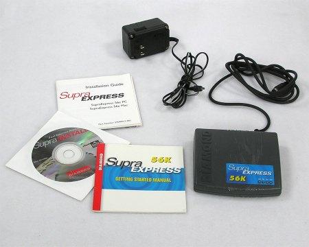Supra Express 56K Modem (Serial)