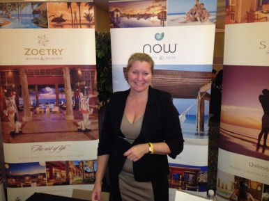 Susan Gaines from AMResorts at our Cherry Hill, N.J. Show