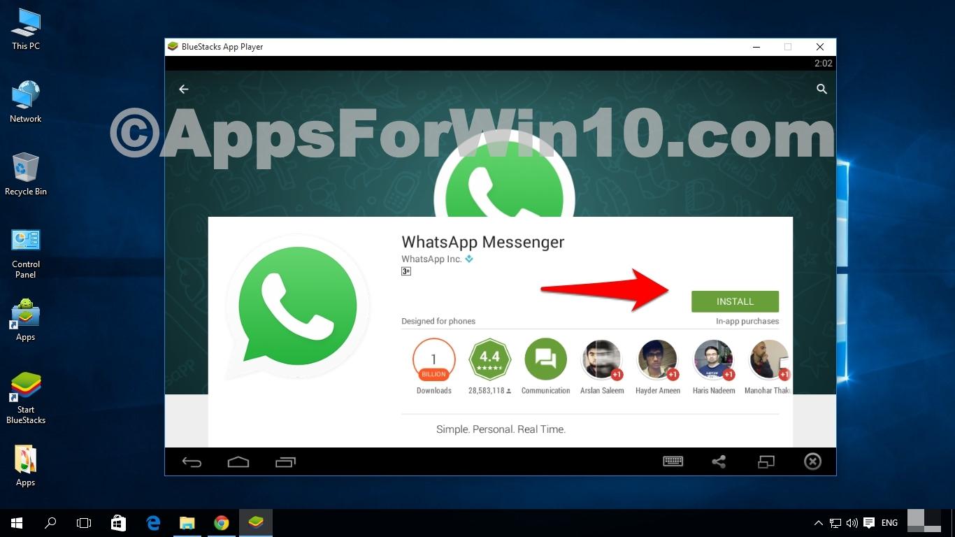 Need whatsapp