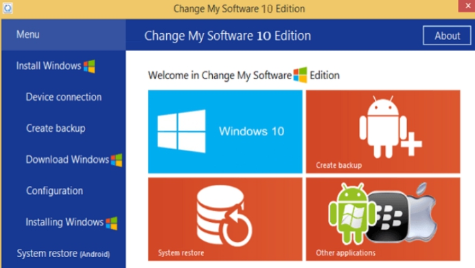 Download Latest Change My Software 10, 8.1, 8, 7 Free Edition - (No Survey Required)