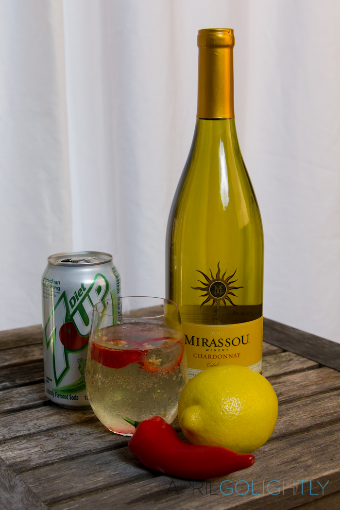 Zesty White Wine Chardonnay Spritzer Cocktail Recipe_-2