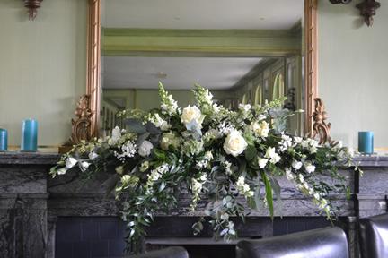 White Shelf Arrangement