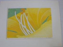 """Masahiro Takade, master printer, """"Day Lily"""""""