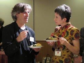 Andrew Stone and Claire Cuccio