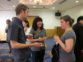 Brian Curling with Yoonmi Nam and Katie Baldwin