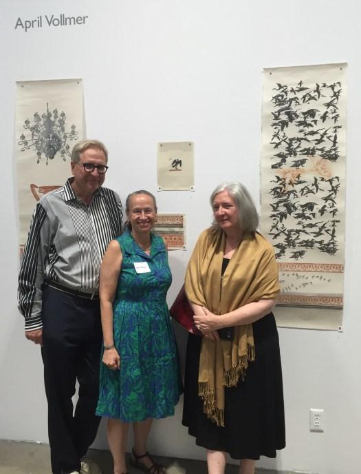 John Borek, April Vollmer, Jacqueline Levine