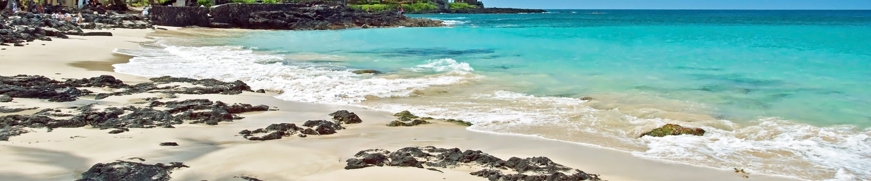 Hawaii Big Island Travel Guide and Hotels   Aqua Aston Hotels White sand beach Island of Hawaii