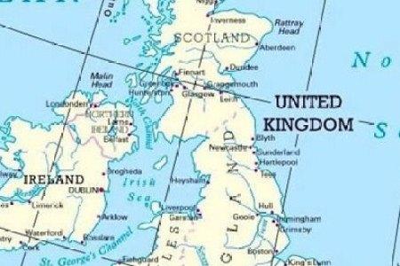 Map Of Uk Ports - Us ports map