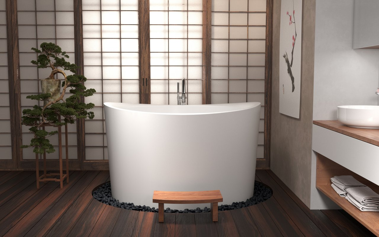 Neat Sale True Ofuro Duo Freestanding Stone Japanese Soaking Bathtub 01 Web Japanese Soaking Tubs Wiki Japanese Soaking Tubs houzz 01 Japanese Soaking Tubs