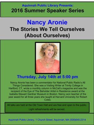 Nancy Aronie