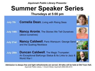 Summer Speaker Series 2016