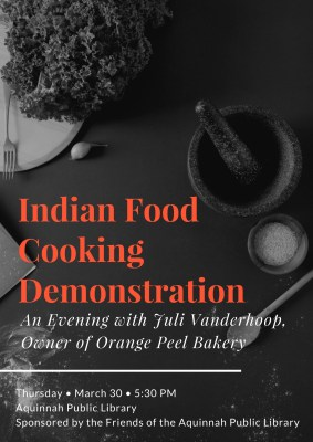 Indian Food Cooking Demo
