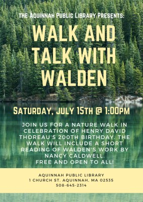 Walk and Talk with Walden (1)