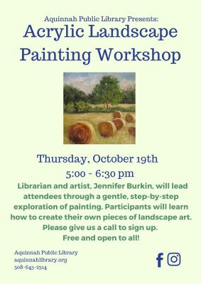 Acrylic Landscape Painting Workshop