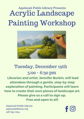 Acrylic Landscape Painting Workshop November (1)